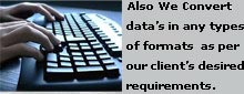 data entry typing
